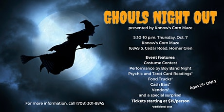 Ghouls Night Out tickets