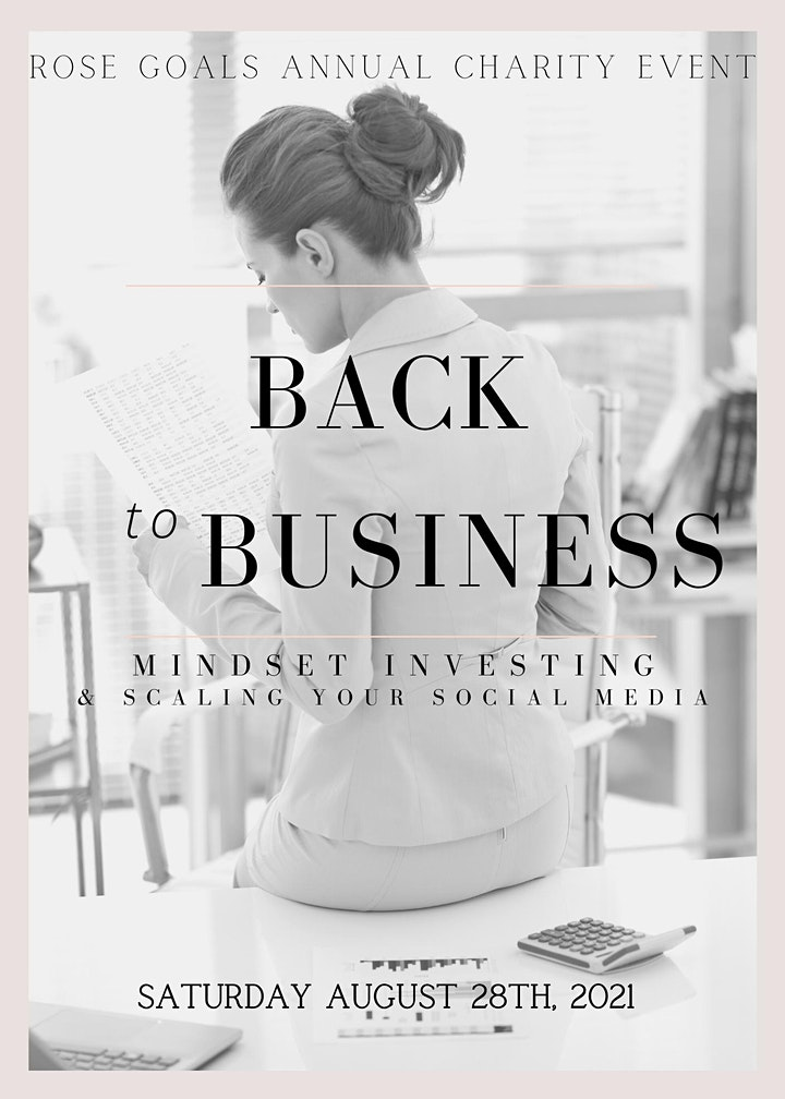 Back to Business - Women's Mindset and Investing - Networking image