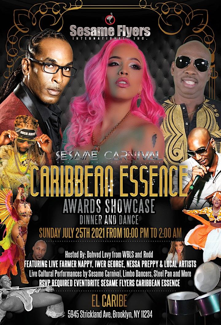 Sesame Flyers Caribbean Essence Awards and Showcase image