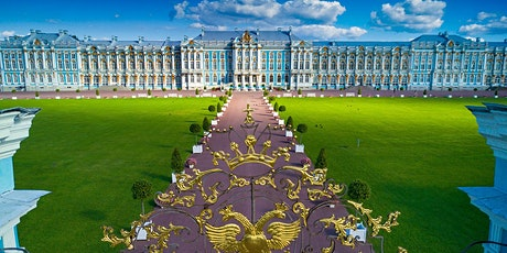 Virtual Guided Tour of St. Petersburg Russia with St. Catherine's Palace tickets