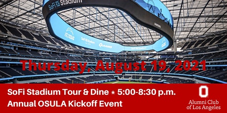 SoFi Stadium Tour & Dine Annual OSULA Kickoff Event tickets