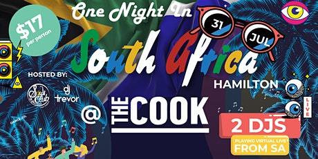 One Night in South Africa Hamilton @ The Cook tickets