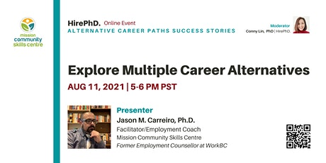 Explore Multiple Career Alternatives - With an Employment Counsellor tickets