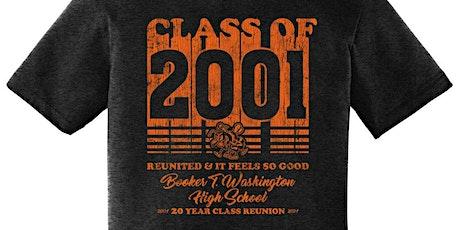 BTW c/o 2001 20 year reunion tickets