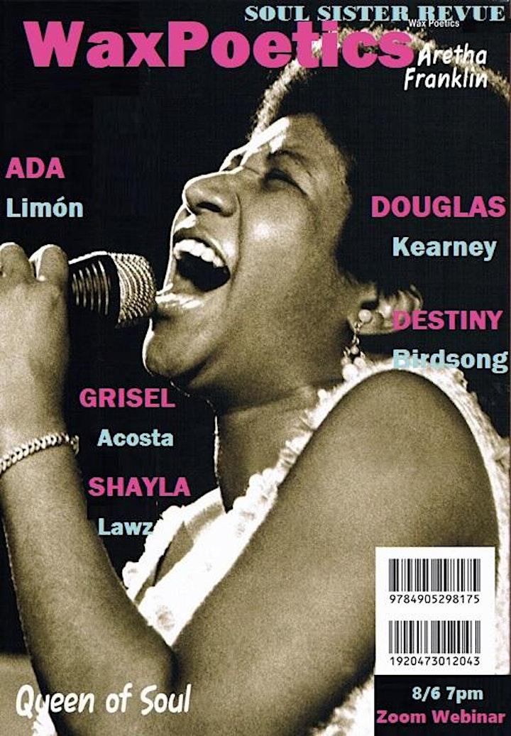 Soul Sister Revue w/ Ada Limón, Douglas Kearney, Destiny Birdsong & More image