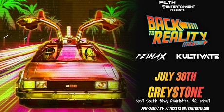 Kultivate & Felmax - Back To Reality Tour tickets
