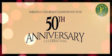 Yarraville Club Cricket 50 Year Celebration tickets