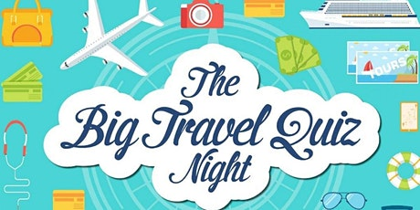 West Travel Club:  Big Travel Quiz Night with Stephen Scourfield tickets