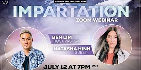 Impartation Zoom Webinar with Natasha Hinn tickets