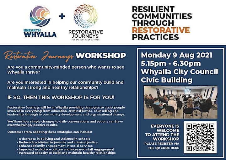 Resilient Communities through Restorative Practices image