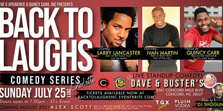 Back To Laughs Comedy Series   Charlotte Edition tickets