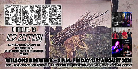 EXP LIVE - LED ZEPPELIN IV TRIBUTE @ WILSON BREWERY BAR tickets