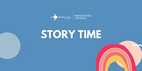 Story Time at Maribyrnong Library tickets