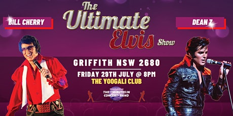 THE ULTIMATE ELVIS SHOW AUSTRALIA 2022 Ft. DEAN Z & BILL CHERRY tickets