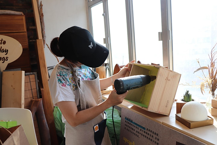 匠心·活:匠工房—升級再造紅酒木箱 image