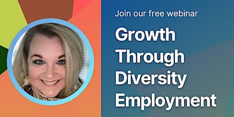 Growth through Diversity Employment | GSBF tickets