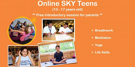 SKY Teens (13-17yo) - Introductory Session (for parents) tickets