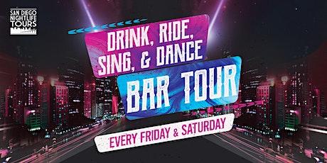 "San Diego ""Drink, Ride, Sing, & Dance!"" Bar Tour (4 bars included) boletos"