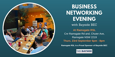 Business Networking Evening tickets