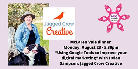 McLaren Vale dinner - Women in Business Regional Network - Monday 23/8/2021 tickets
