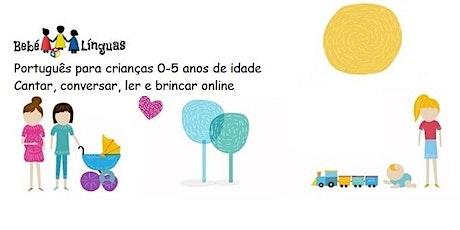 Conversas em português para os mais pequenos bilhetes