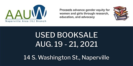 AAUW NAPERVILLE AREA USED BOOKSALE -- EARLY BIRD ACCESS FOR SCHOLARSHIPS tickets