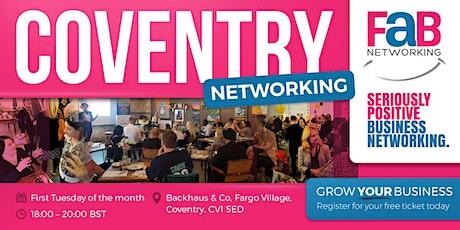 FindaBiz Networking Coventry billets