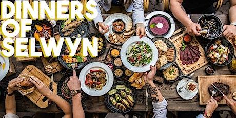 Dinners of Selwyn Sheffield tickets