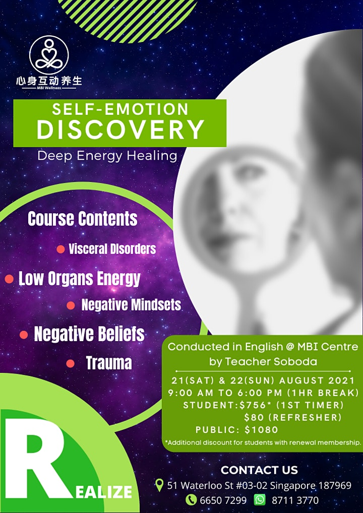 Self-Emotion Discovery - 2 Full Days Course image