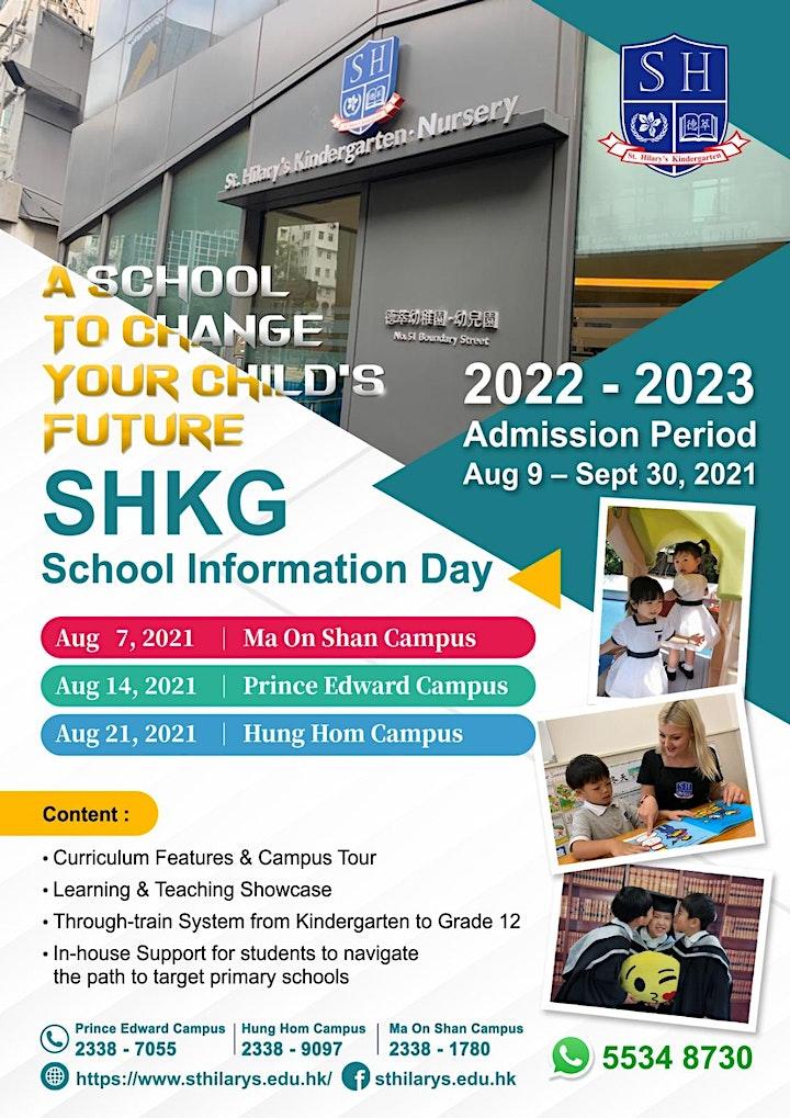 (Prince Edward Campus) School Information Day  @ SHKG image