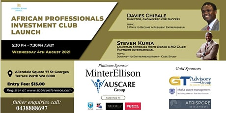 African Professionals Investment Club Launch tickets