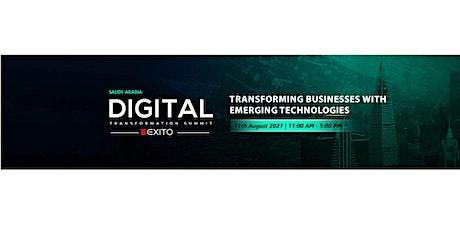 Digital Transformation Summit - Saudi Arabia Tickets
