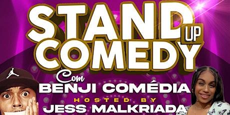 Benji Comedia hosted by Jess MalKriada tickets