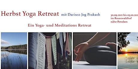 Herbst Yoga Retreat in Brandenburg Nähe Potsdam tickets