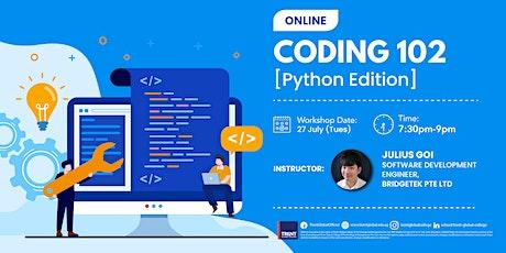 Coding 102, Python Fundamentals Tickets