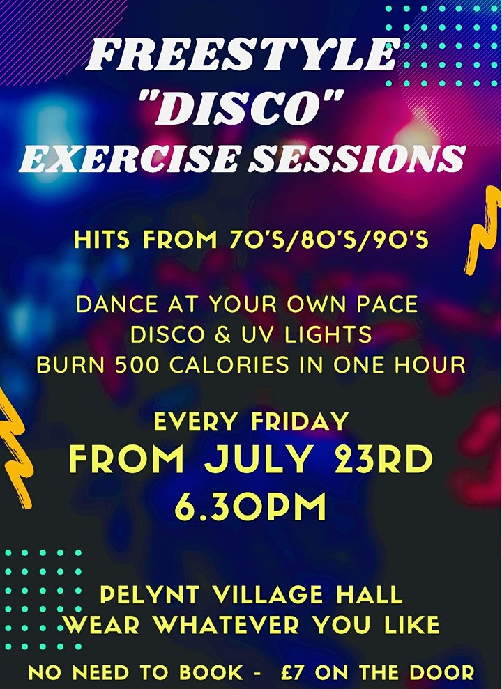Freestyle Disco Exercise Sessions image