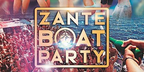 The ZANTE BOAT PARTY tickets