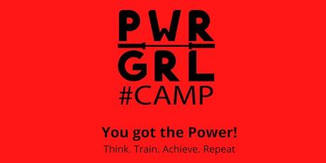 Powergirl-Camp Tickets