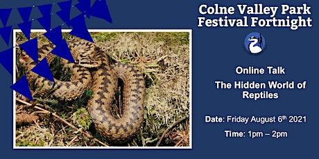 Online Workshop - Hidden World of Reptiles tickets