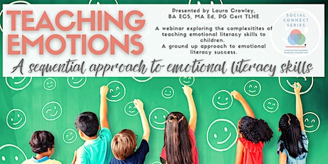 Teaching Emotions: A sequential approach to emotional literacy skills tickets