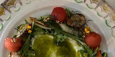 Vegan contemporary dinner event Far East : July 27th Harken coffee tickets