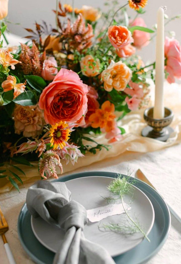 A Relaxing Italian-styled Summer Floral Getaway Experience image