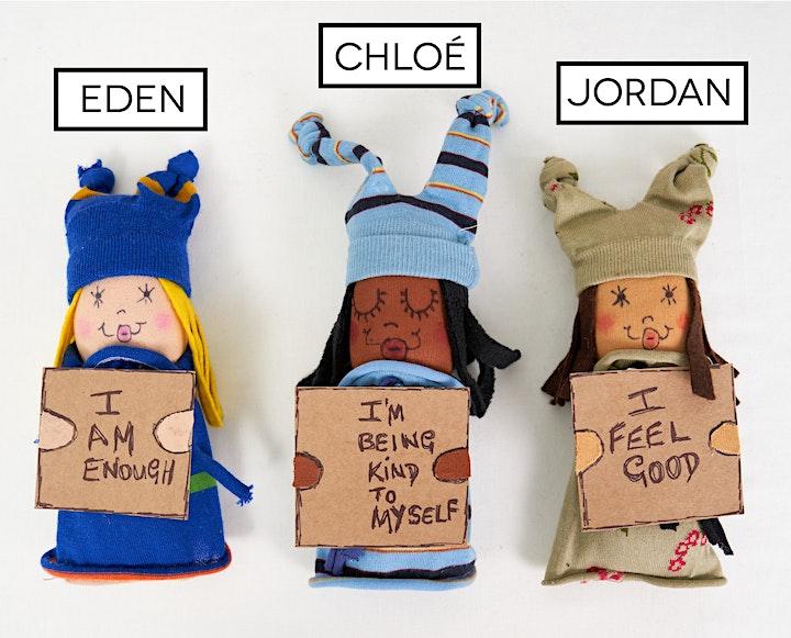 Empowerment Doll-making workshop with artist Rita Kappia image