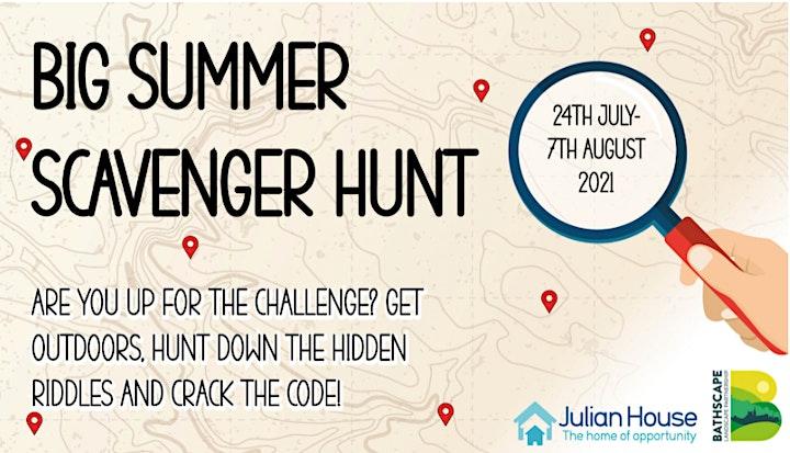 Run Bath Does Julian House Scavenger Hunt image