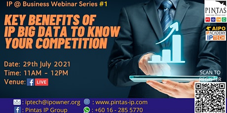 Key Benefits of IP Big Data to Know Your Competition Tickets