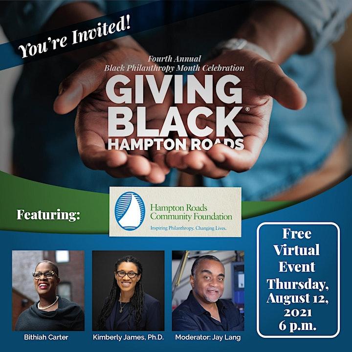 Black Philanthropy Month Celebration 2021 image