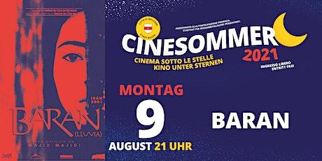 Baran - Cinesommer 2021 biglietti