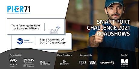 SPC2021 Roadshow: Boarding Officers' Role & Seafastening Tickets