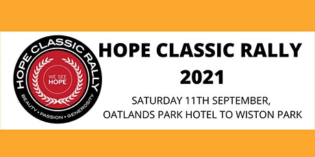 Hope Classic Rally 2021 tickets