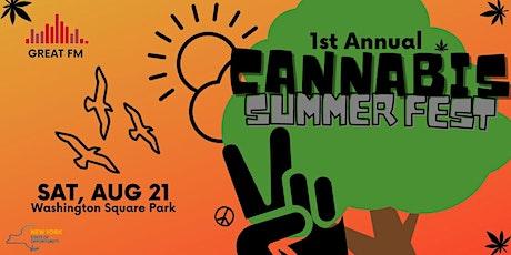 The Cannabis Summer Fest tickets